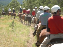 Trail Ride at Clarks Fork